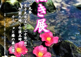 第17回つばき展ポスター(表)